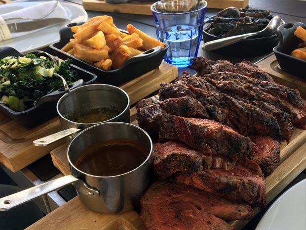 The Ox Cheltenham summer menu