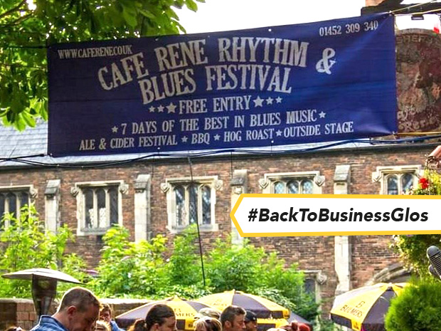 Gloucester Rhythm and Blues Festival will take place at Café René in July and August 2021.