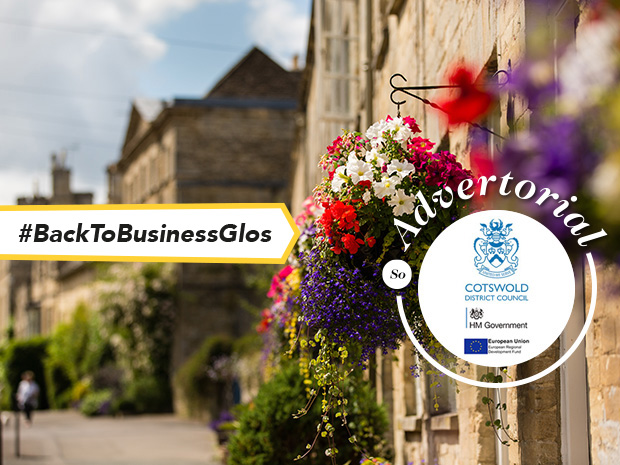 Cotswold District Council is welcoming visitors back to its high streets, reminding them to follow 'hands, face, space' when discovering what the Cotswolds has to offer.
