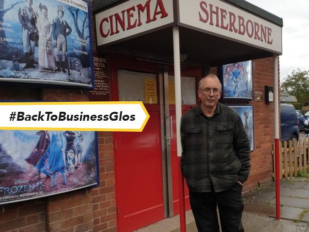 Mark Cunningham is preparing to welcome back film-lovers to Kingsholm's Sherborne Cinema.