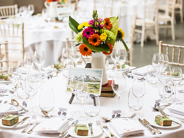 Real wedding at Blackwell Grange