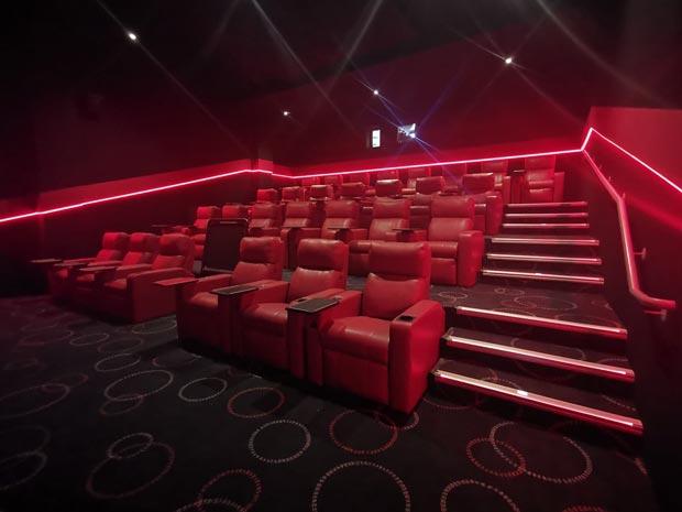 Cineworld Cheltenham following renovation