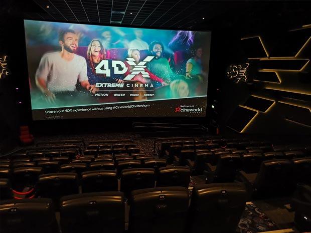 Cineworld Cheltenham 4DX