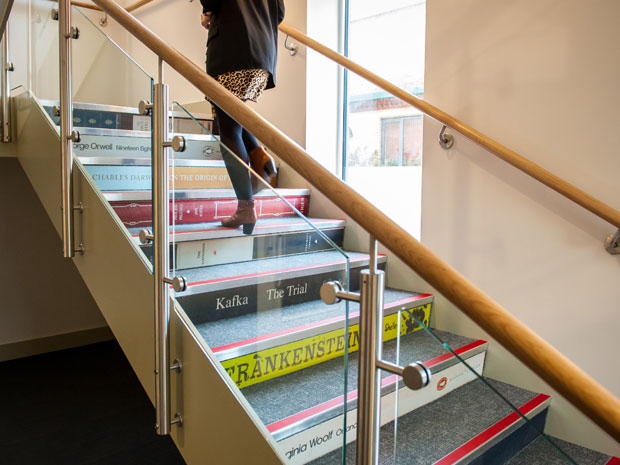 Pate's Grammar School's Godfrey Staircase