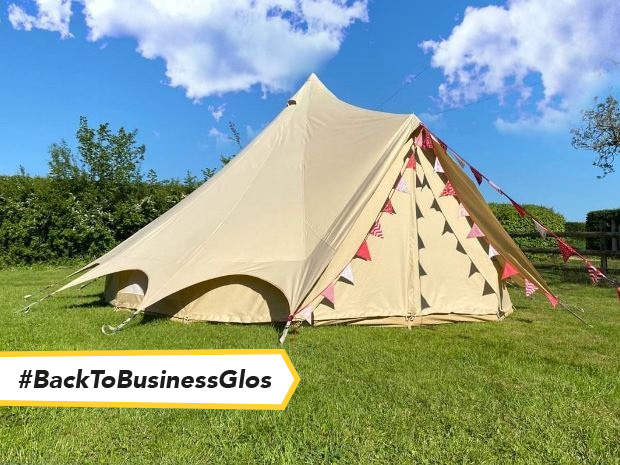 Perfectly-timed for summer vacays, Cotswold Farm Park's new 'glampsite' opens from Friday 9 July to Tuesday 31 August 2021.