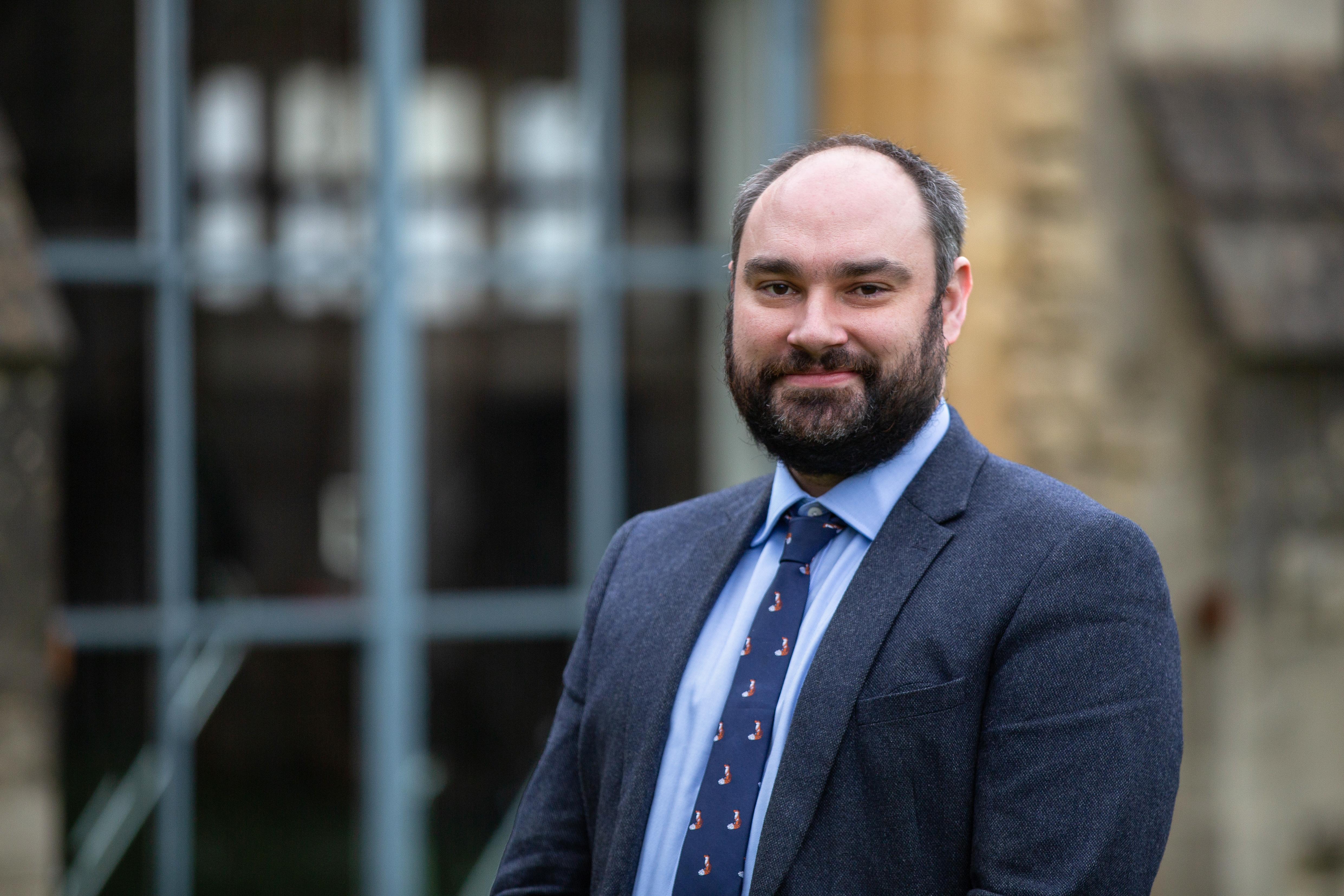 Ben Forward-Davies head of religious studies and philosophy at Cheltenham Ladies' College
