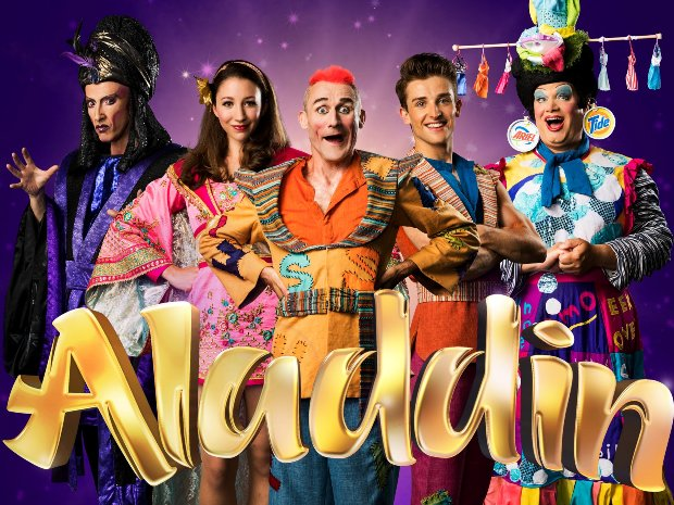 Aladdin pantomime at Everyman Theatre