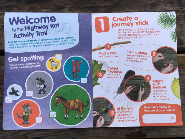 The Highway Rat Activity Trail review at Beechenhurt Lodge