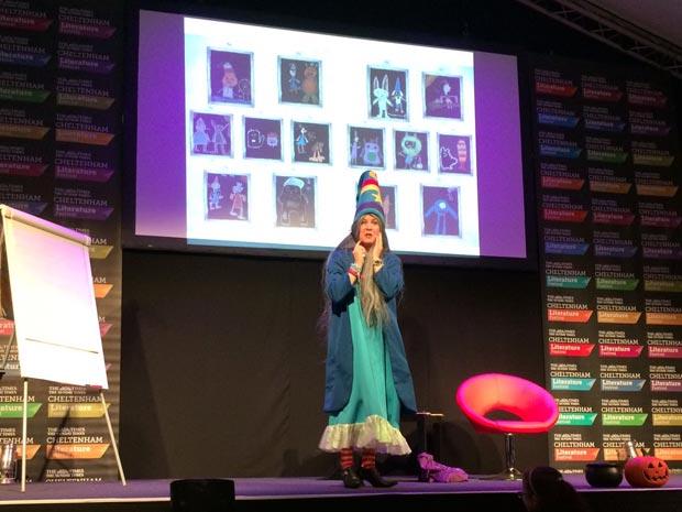Winnie the Witch at Cheltenham Literature Festival 2018