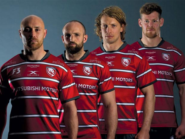 Gloucester Rugby reveals new kit
