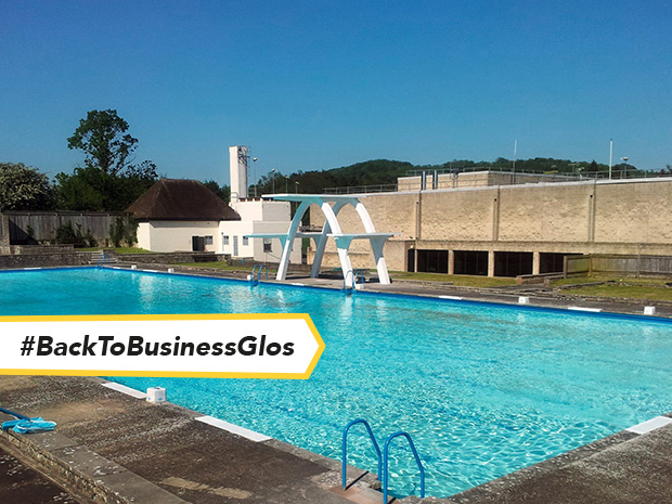 Enjoy a post-lockdown dip in Stroud's outdoor pool as Stratford Park Lido reopens from 1pm on Saturday 29 May 2021.