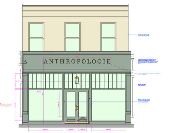 Anthropologie Cheltenham reveals new plans