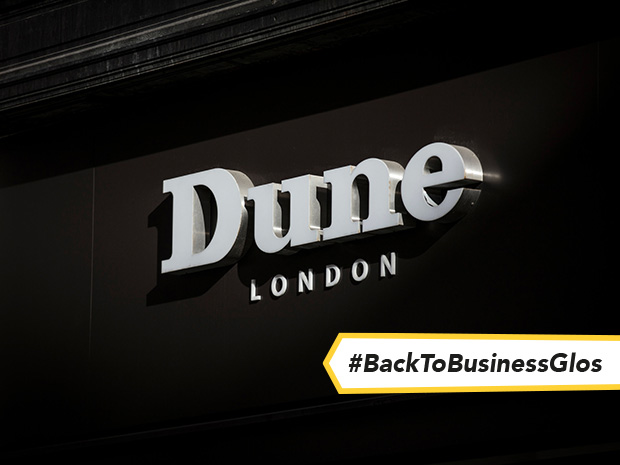 Dune London opened its new outlet store at Gloucester Quays this September 2021.