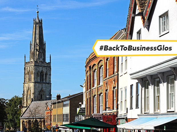 Powerful city centre business group Gloucester BID has been praised for its 'exemplary' crime reduction partnership and all-round performance.