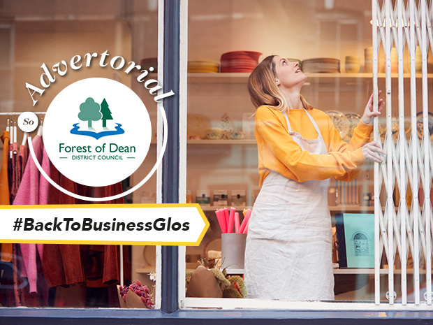 Forest of Dean District Council is helping local start-ups to get off their feet with a dedicated business grant for those registered after April 2020.