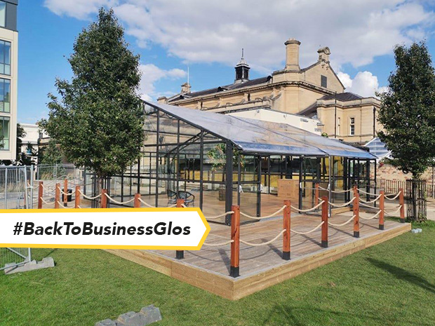 The new Garden Bar Orangery is replacing the temporary marquee at Imperial Gardens.