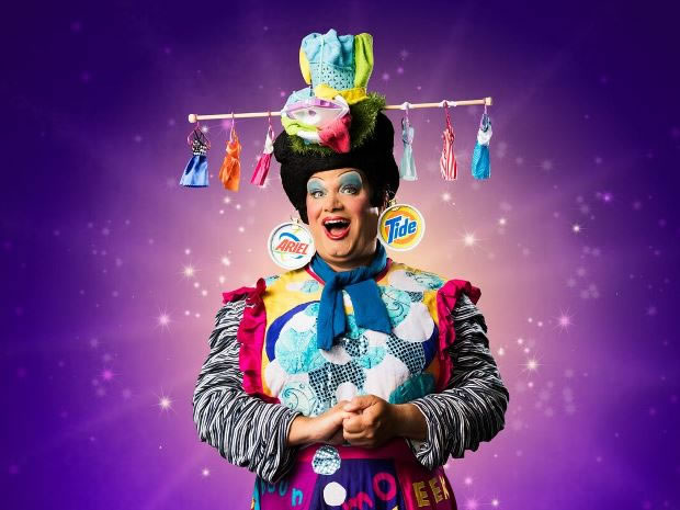 Everyman Theatre Aladdin pantomime cast interview