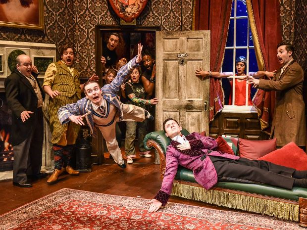 The Play That Goes Wrong will be one of the first full capacity shows on the Everyman Theatre's stage this summer.