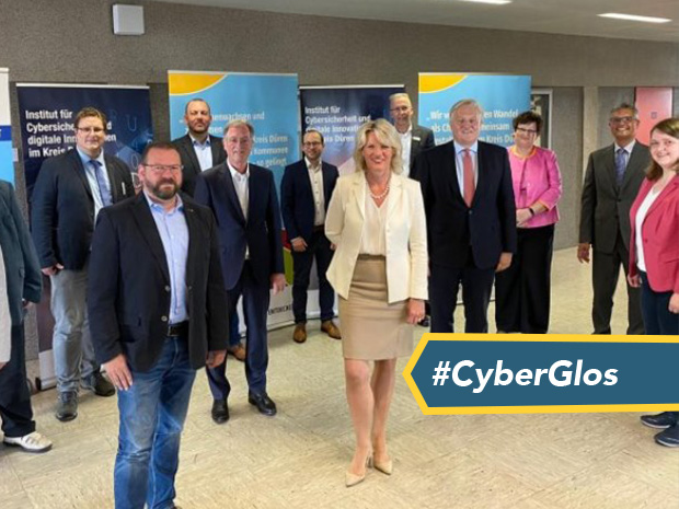 The University of Gloucestershire has unveiled plans to open an institute for cyber security and digital innovation in Germany.