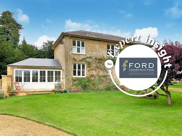 Ford Construction continues to make a name for itself, and its least with one of its latest projects – work to update and renovate Temple Guiting House in the Cotswolds.