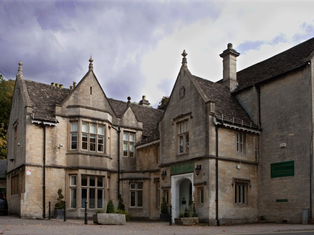 Ingleside House in Cirencester, currently undergoing a £500,000+ investment to transform it into a new boutique hotel.