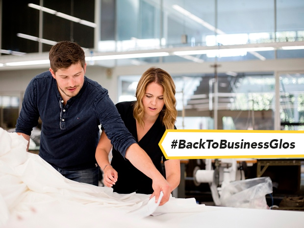 Jo and Nick James, founders of fast-growing Cheltenham bedding business Bedfolk, have seen turnover grow by 500 per cent.