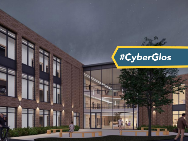 An artist's impression of the forthcoming digital skills centre at Cirencester College.