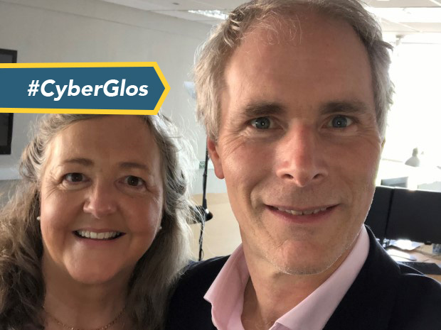 Rebecca and Nick Eden, of Cheltenham-headquartered business software specialists CloudTamers, a partner with a multi-billion dollar US software giant Oracle NetSuite.