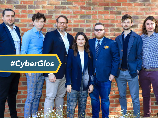 Jason Kalwa, (third from the left), founder and chief executive officer, with some of the team at Salus Cyber, says the new partnership with RSM will be 'improve the nation's cyber security'.